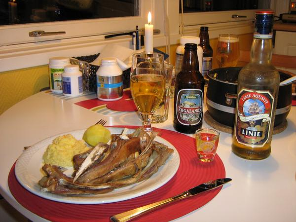 norwegian christmas dinner