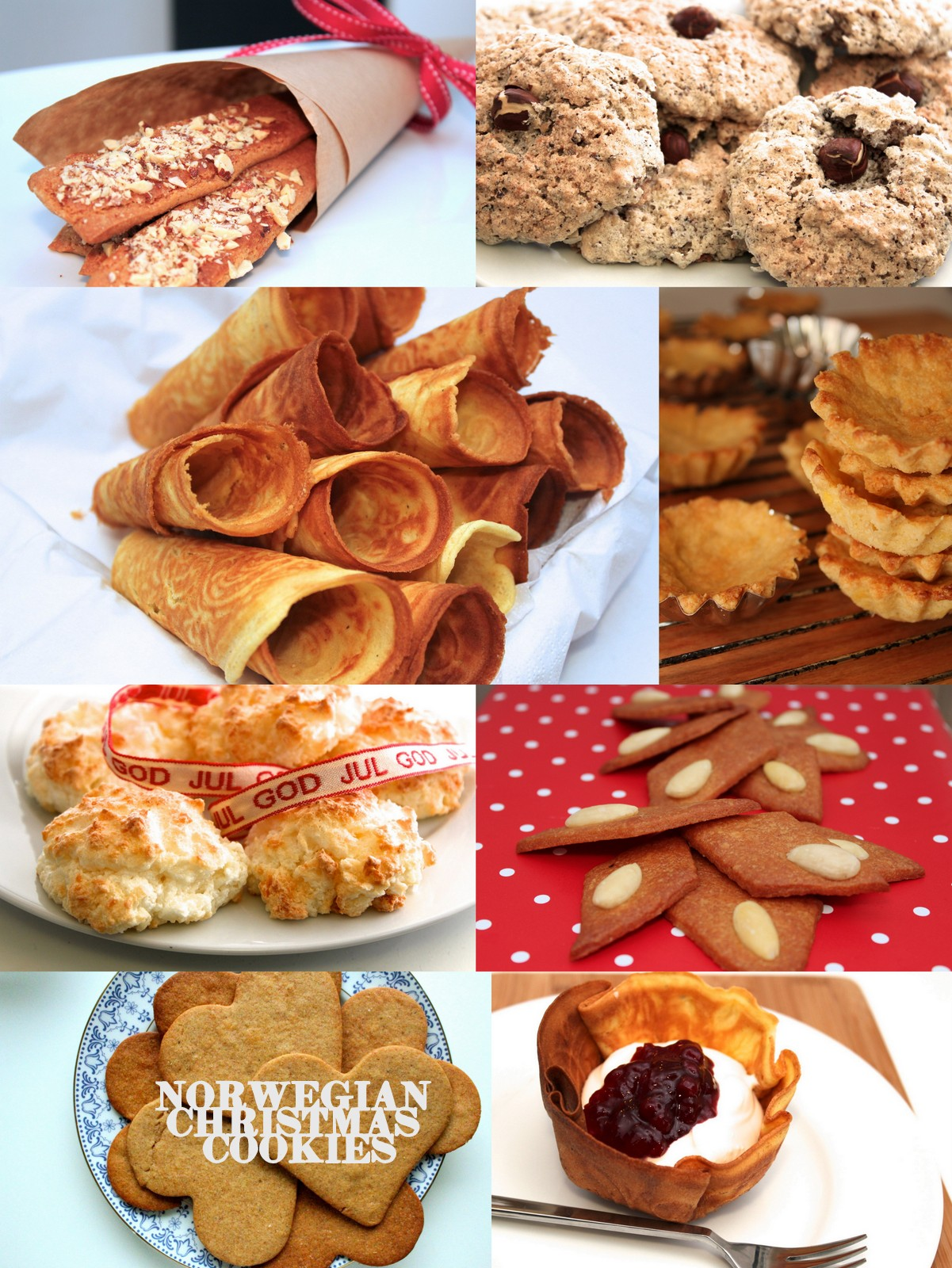 Norwegian Christmas Cookie Recipe Roundup