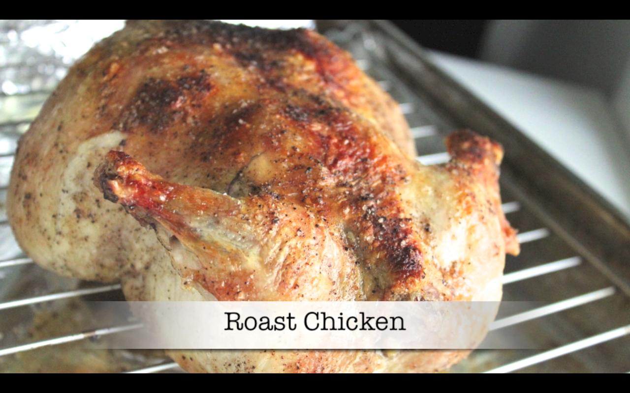 Roast Chicken (video)