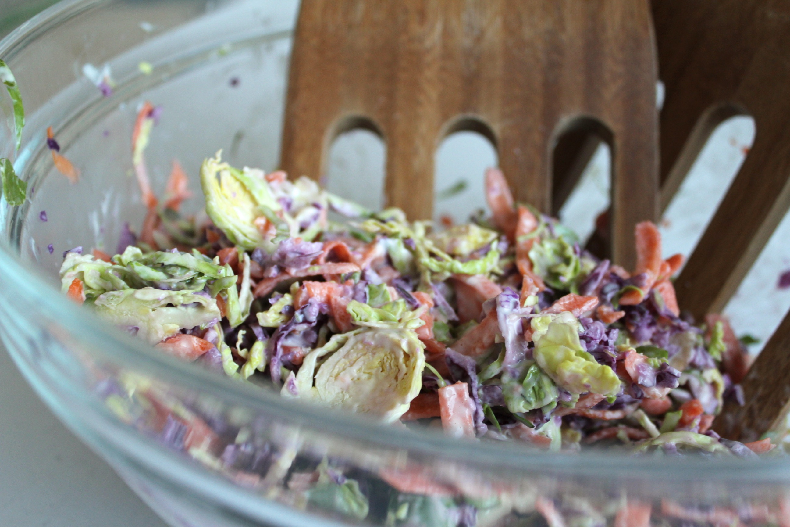 brussel sprout coleslaw
