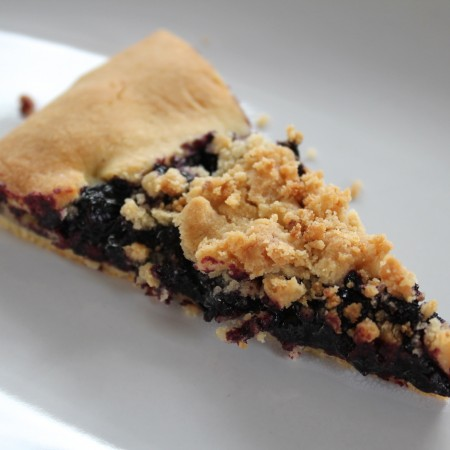 French Style Blueberry Tart