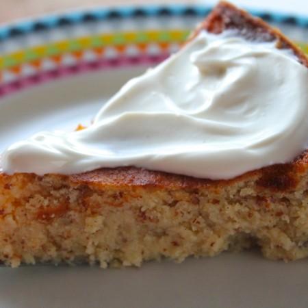 Gluten Free Almond Ricotta Cake