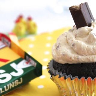 Kvikk Lunsj Cupcakes