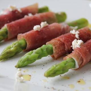 Suldalsskinka Wrapped Asparagus