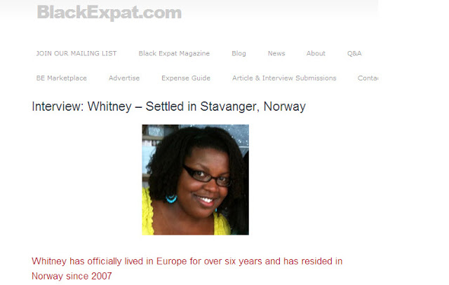 BlackExpat.com: Whitney -Settled in Stavanger Interview