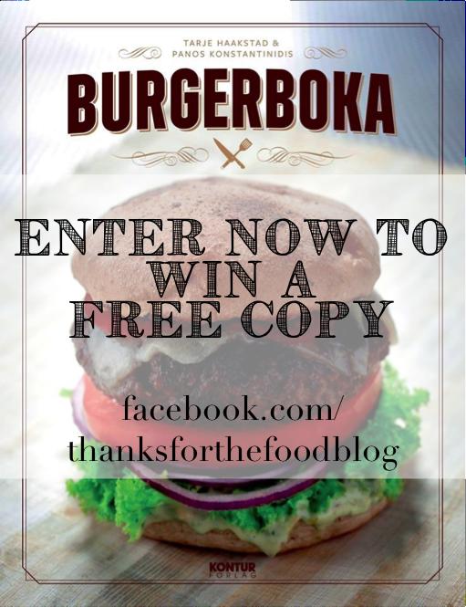 Døgnvill Bar & Burger Burgerboka Giveaway