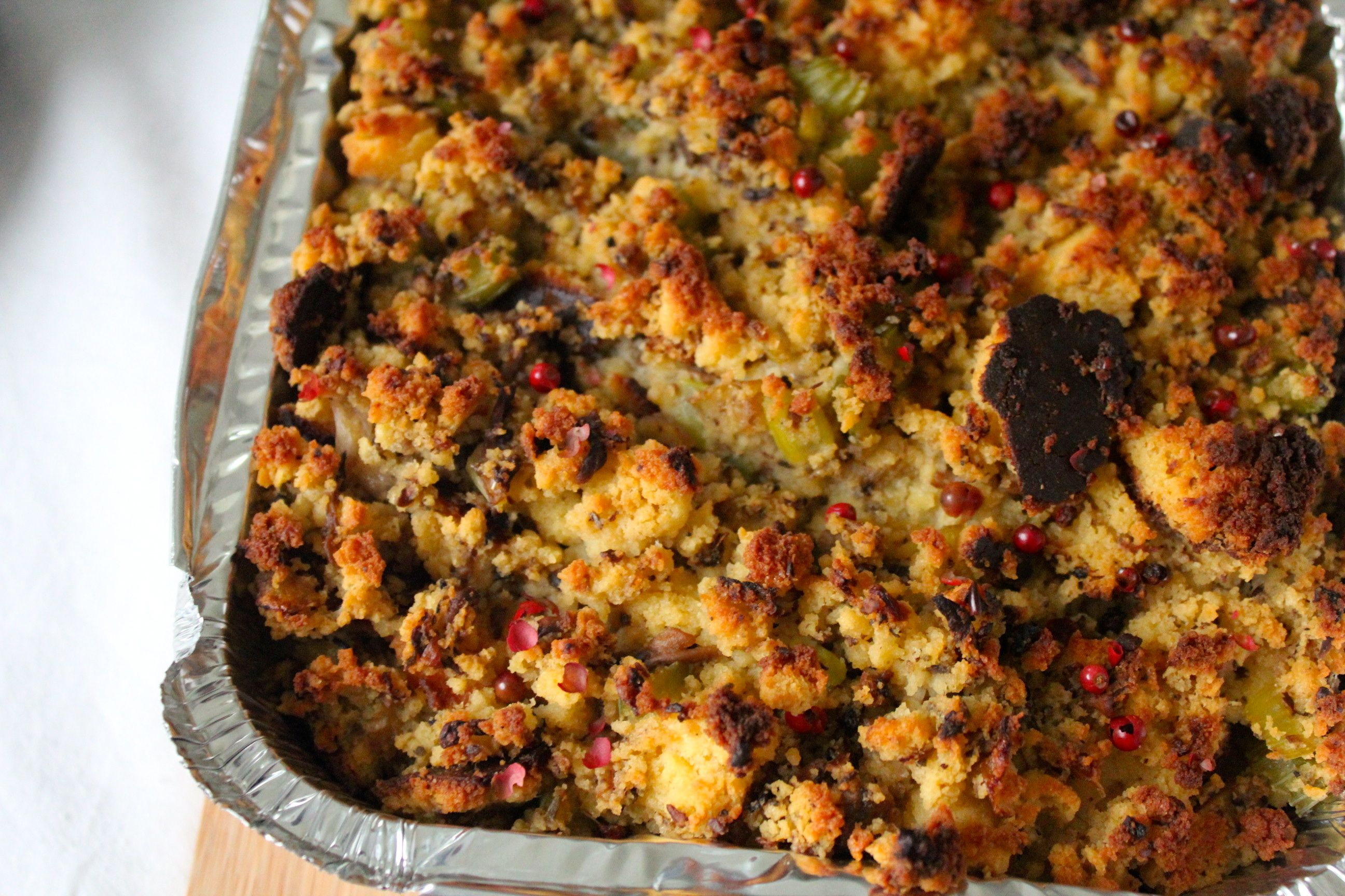 Cornbread Stuffing - Thanks For The Food
