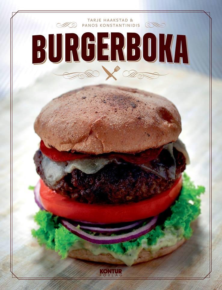 Døgnvill Bar & Burger Burgerboka