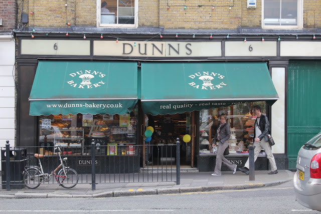 dunns bakery london