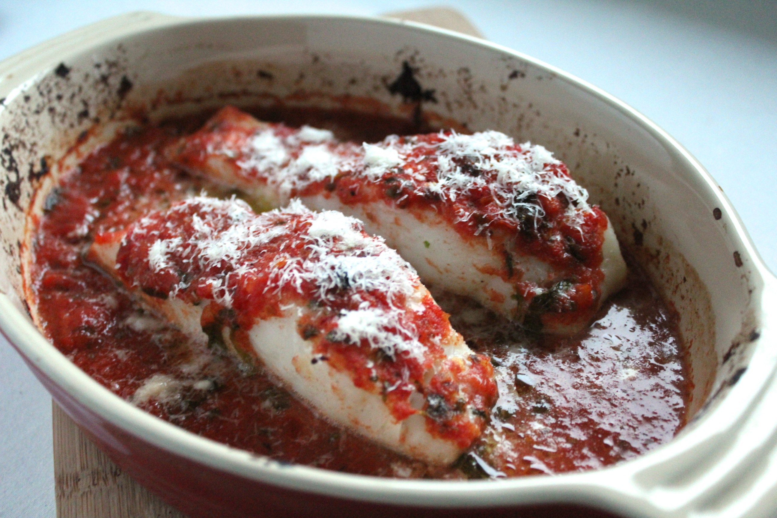 Italian baked cod thanks for the food for Baked cod fish recipes