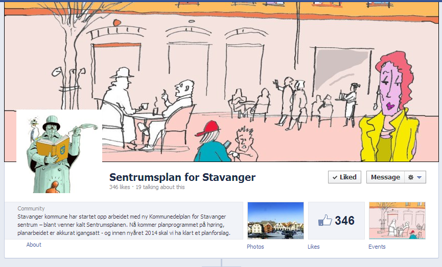 sentrums plan for stavanger