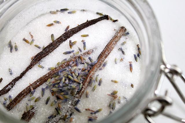vanilla lavendar sugar