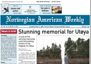 Norwegian American Weekly - Mathallen Oslo Article