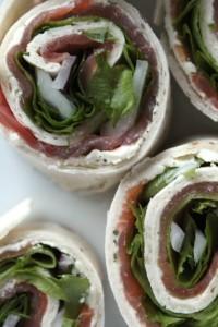 salmon wraps